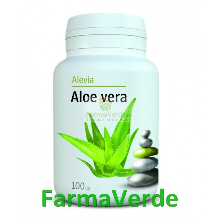 Aloe Vera 100 comprimate Alevia