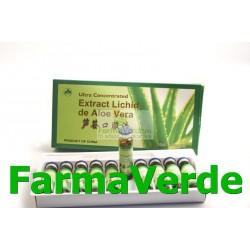 Aloe Vera Extract Lichid 10 Fiole Sanye L&L Plant Advancemed