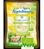 Bomboane Ghimbir si Plante Aromate BIO 75 gr Alpenbauer