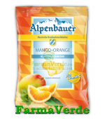 Bomboane cu Mango si Portocale BIO 75 gr Alpenbauer
