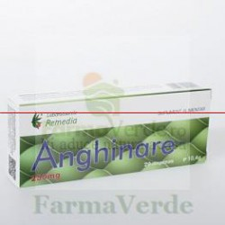 ANGHINARE 250 mg 20 comprimate REMEDIA