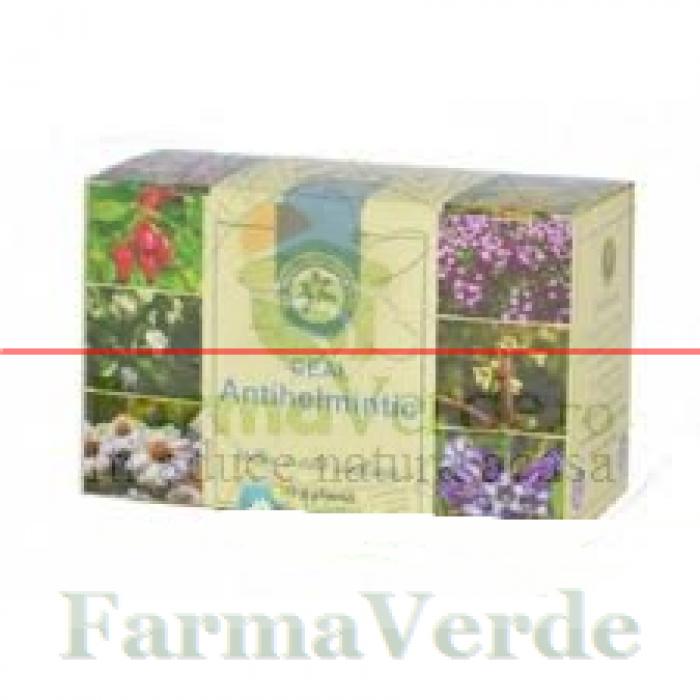 Ceai Antihelmitic 30 gr Hypericum Impex Plant