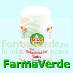 Antiparazitar Baby 60 capsule Bios Natura