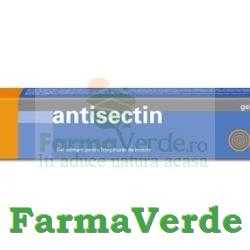 Antisectin Gel calmant pentru intepaturile de insecte 35gr Omega