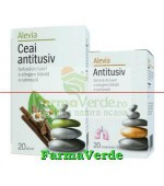 Promotie! Antigripal 20 cpr + Ceai antigripol 20 plicuri Alevia