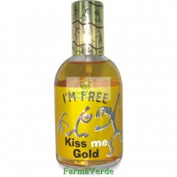 Apa de toaleta I M FREE Kiss me Gold Life Care