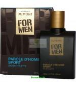 Apa de toaleta FOR MEN Parole D homme sport BIO Life Care