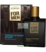 Apa de toaleta FOR MEN Parole D homme sport Life Care