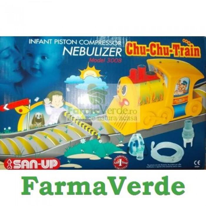 Aparat Aerosoli cu Compresor Chu-Chu Train Bioexpert