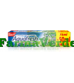 AQUAFRESH Herbal Pasta de Dinti 125 ml Top C&S Distribution