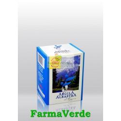 Argila Albastra De Raciu Granule 500 Gr Romcos Impex