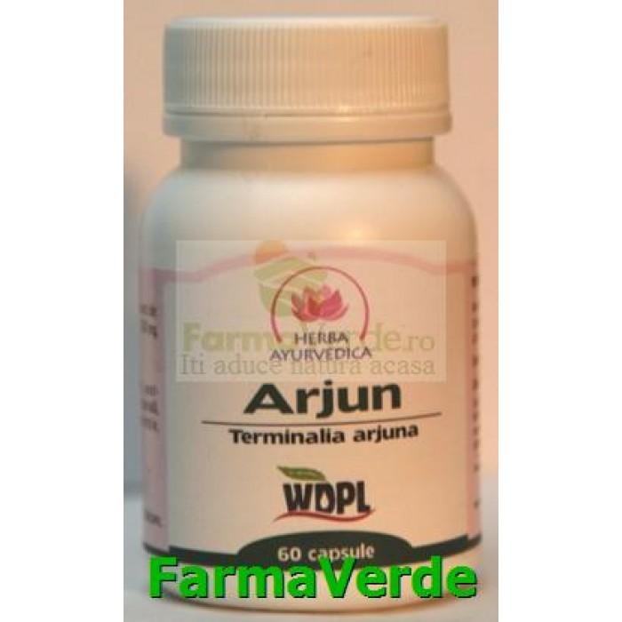 Arjun Cardiotonic 500mg 60 capsule Herba Ayurvedica