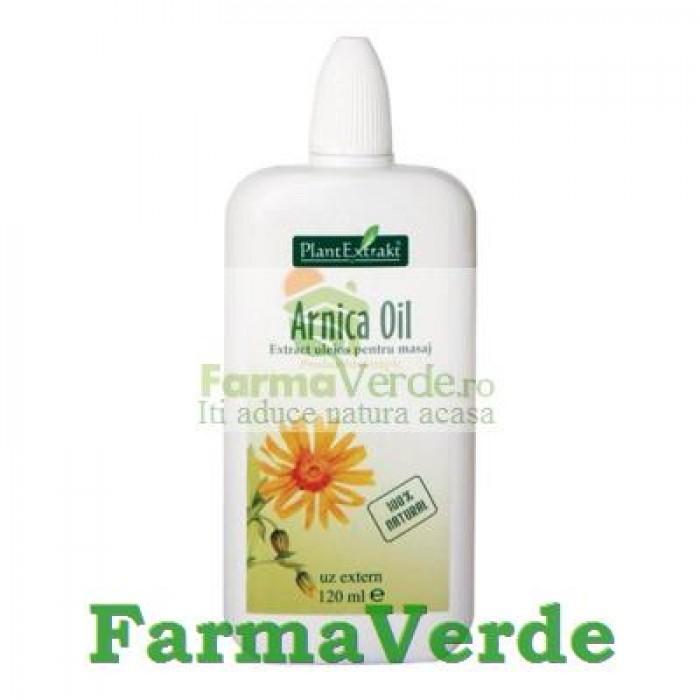 Arnica Oil Ulei 120Ml Plantextrakt