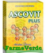 Ascovit Vitamina C Plus Propolis 180 mg 20 cpr Europharm