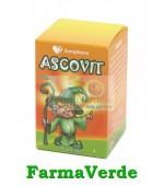 Ascovit Portocala Vitamina C 20 cpr masticabile Europharm