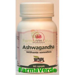 Ashwagandha GINSENG INDIAN 60 capsule Herba Ayurvedica