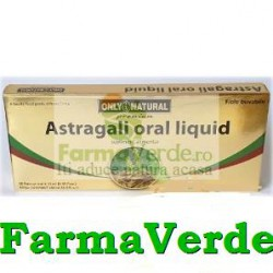 ASTRAGALI Astragalus 2000mg 10fioleX10ml Only Natural