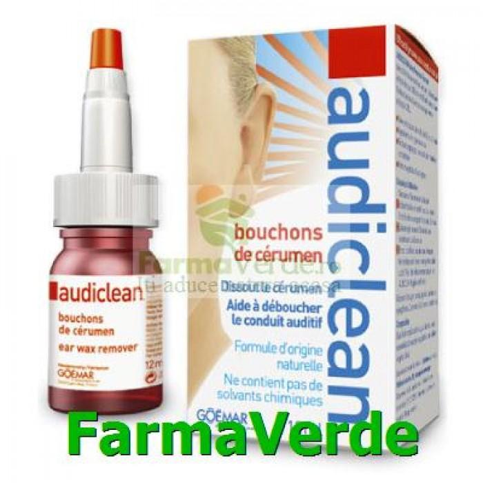 AudiClean Picaturi Indepartare Cerumen 12 ml Hipocrate
