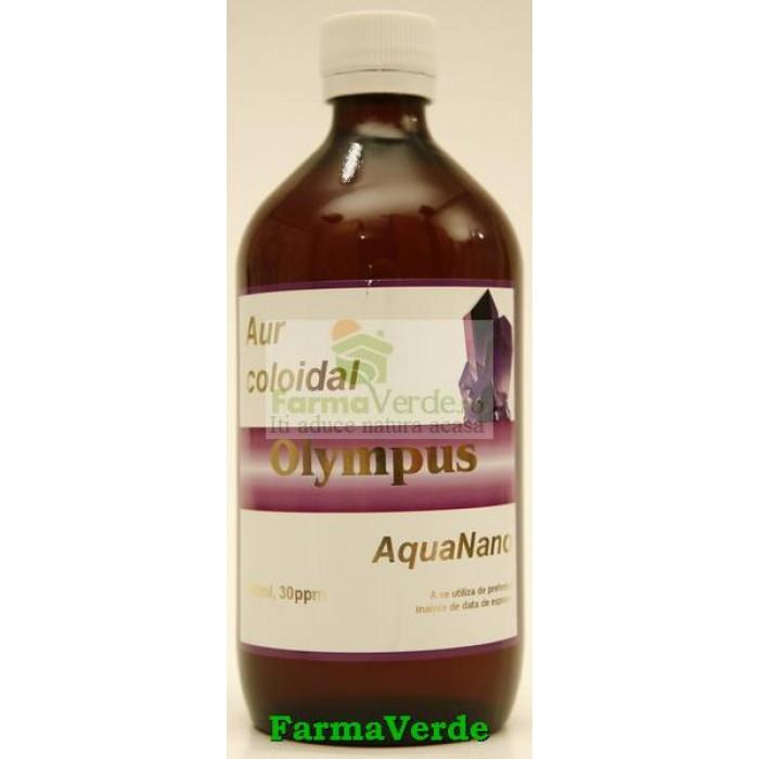 Aur Coloidal AquaNano Olympus 500 ml Aghoras Invent