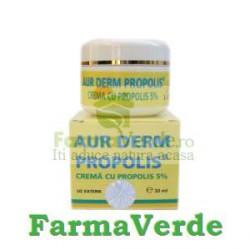 Aur Derm Crema Propolis 5% 30 grame Laur Med
