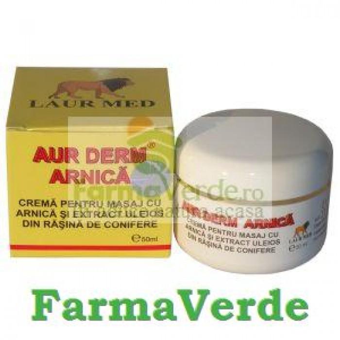 Aur Derm Crema Arnica 50 grame Laur Med