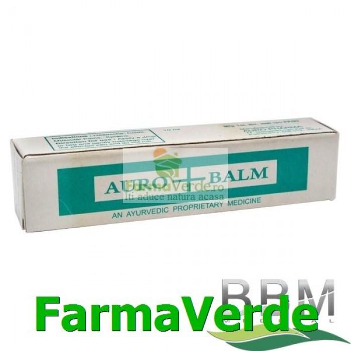 Auro Balm 10 ml in sticla cu rollon BBM Medical