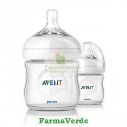 Biberon Philip AVENT 125 ml PP 0%BPA x1buc 680/17