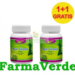 Ayur Cleanse 50 gr Pulbere Plante laxativa 1+1 GRATIS! Indian