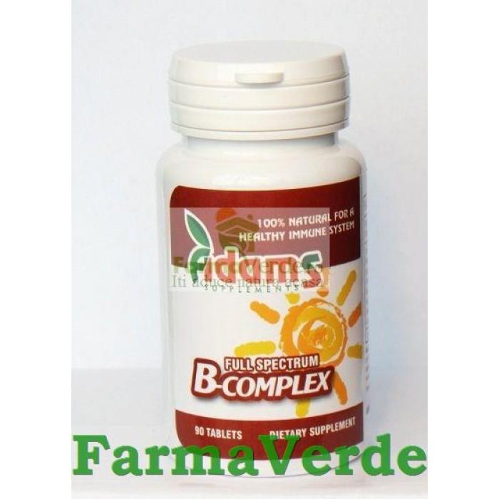 B complex 90 tablete Adams Vision