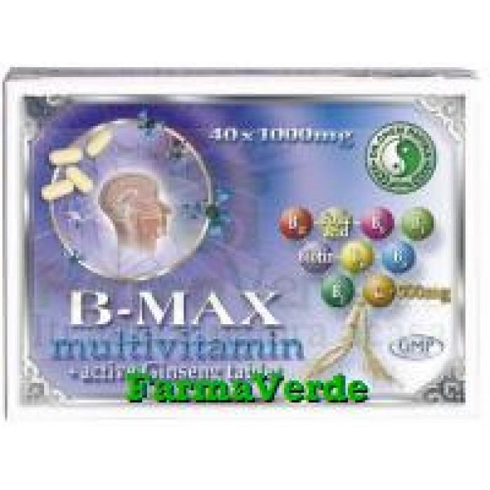 B-MAX MULTIVITAMINA Tableta Activa Ginseng 40 tablete Dr Chen