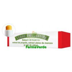 Balsam de buze cu extract de propolis,extract de morcov,catina