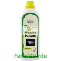 Balsam BIO pentru rufe BioHAUS 1000 ml Life Care