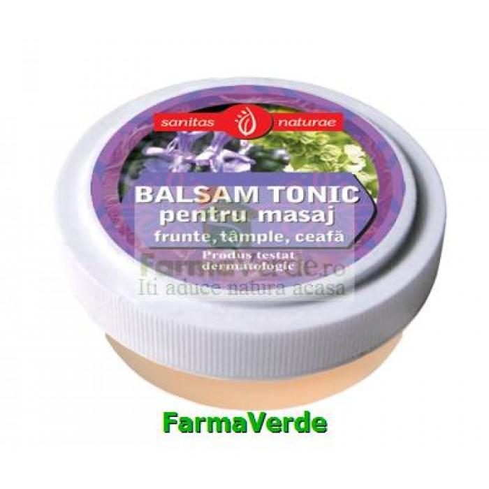 Balsam Tonic Masaj frunte, tample, ceafa 20ml Manicos