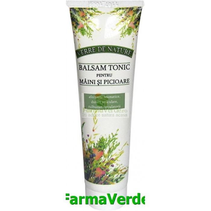 Balsam Tonic Pentru Maini Si Picioare 50 g Manicos