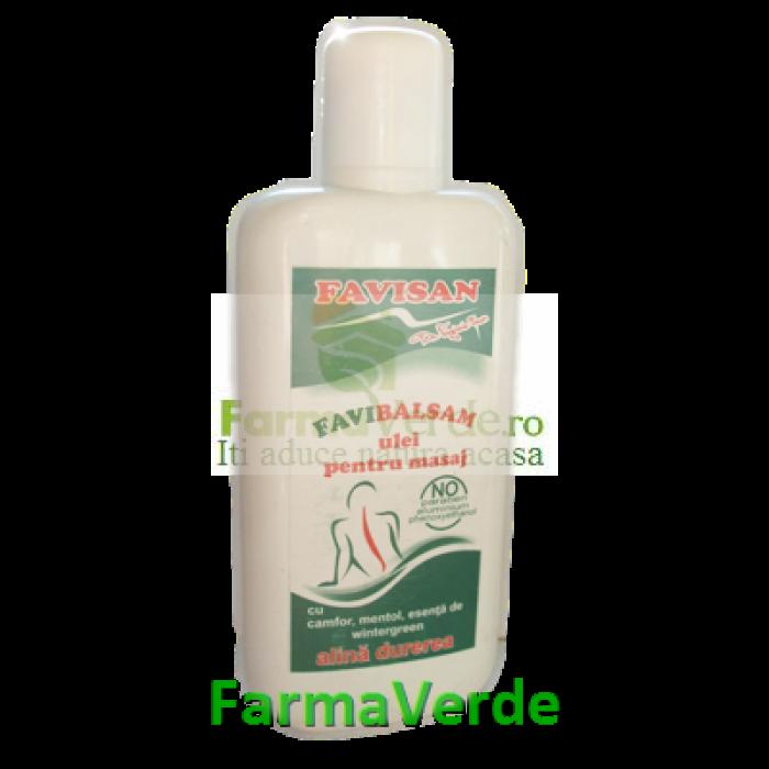 Balsamin ulei pentru masaj 125 ml Favisan