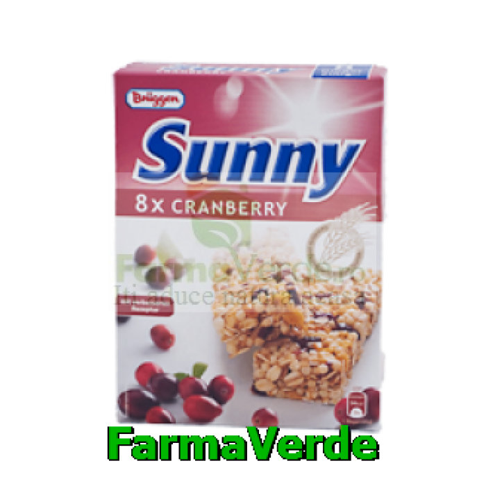 Baton Musli Cereale Merisor 200 gr 8 buc Cutie SANO VITA