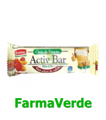 Baton Ovaz ACTIV BAR cu Iaurt si Fructe Tropicale 30 gr Rommac
