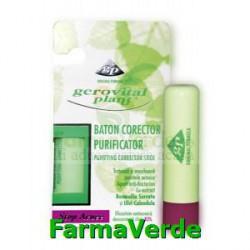 Baton corector purificator Gerovital Plant Stop Acnee Farmec
