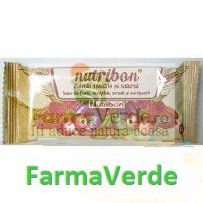 Baton Fructe si Migdale Nutribon 1 bucata Plantextrakt