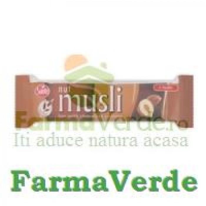 Baton Musli Ciocolata,Alune 40 gr Sante