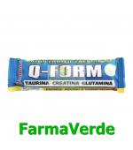 Baton Proteic Energizant Q-FORM Ciocolata 60gr Rommac Trade