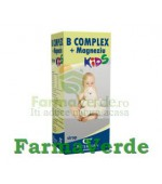 Sirop B Complex + Magneziu KIDS 150 ml Fiterman Pharma