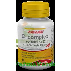 B Complex + Vitamina C 30 tb Walmark