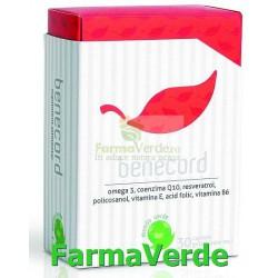 BENECORD protectie pentru inima ta 30 cps Mundo Verde Laropharm