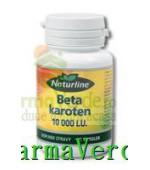 Beta Caroten 10000 U.I. 30 Cps Naturline Walmark