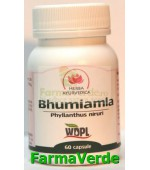Bhumiamla Antiliatizic 500mg 60 capsule Herba Ayurvedica