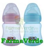 Biberon BPA gat larg 150 ml RO146 Primii Pasi