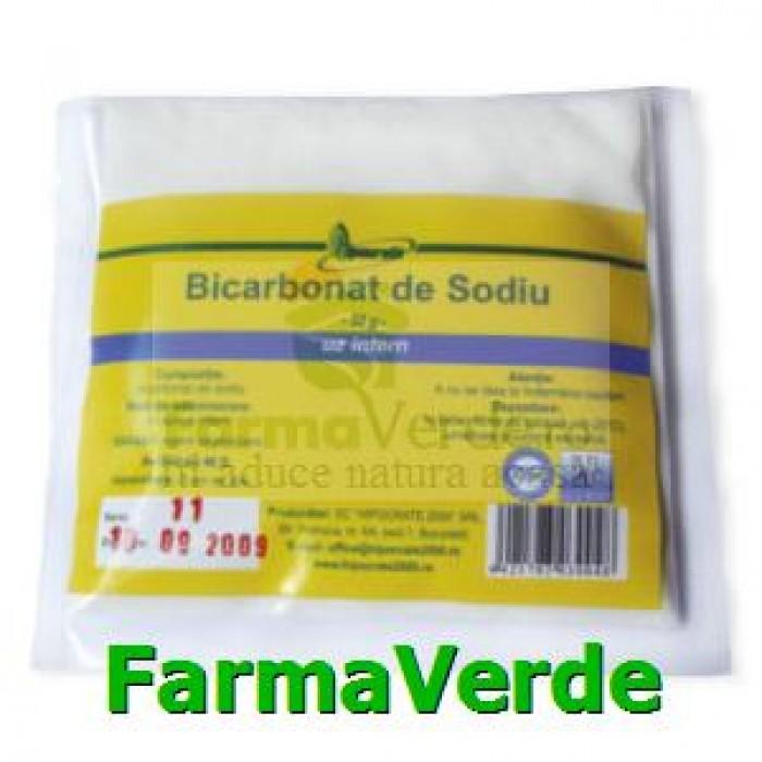 Bicarbonat de sodiu 50g Hipocrate