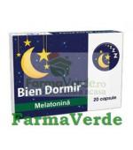 Bien dormir + Melatonina 20 capsule Fiterman Pharma