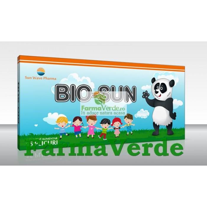 BIO-SUN Probiotice 10 PlicuriI Sun Wave Pharma